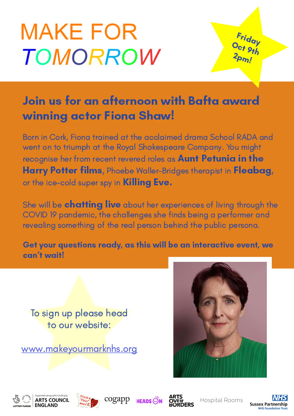 Join us for an afternoon with Bafta award winning actor Fiona Shaw! Born in Cork, Fiona trained at the acclaimed drama School RADA and went on to triumph at the Royal Shakespeare Company. You might recognise her from recent revered roles as Aunt Petunia in the Harry Potter films, Phoebe Waller-Bridges therapist in Fleabag, or the ice-cold super spy in Killing Eve. She will be chatting live about her experiences of living through the COVID 19 pandemic, the challenges she finds being a performer and revealing something of the real person behind the public persona. Get your questions ready, as this will be an interactive event, we can't wait! Sign up on button opposite.